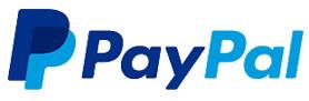 Paypalが使用できます。