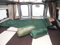 sleeping bag/sheets