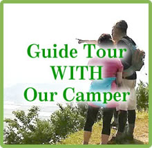 guide Tour with our camper